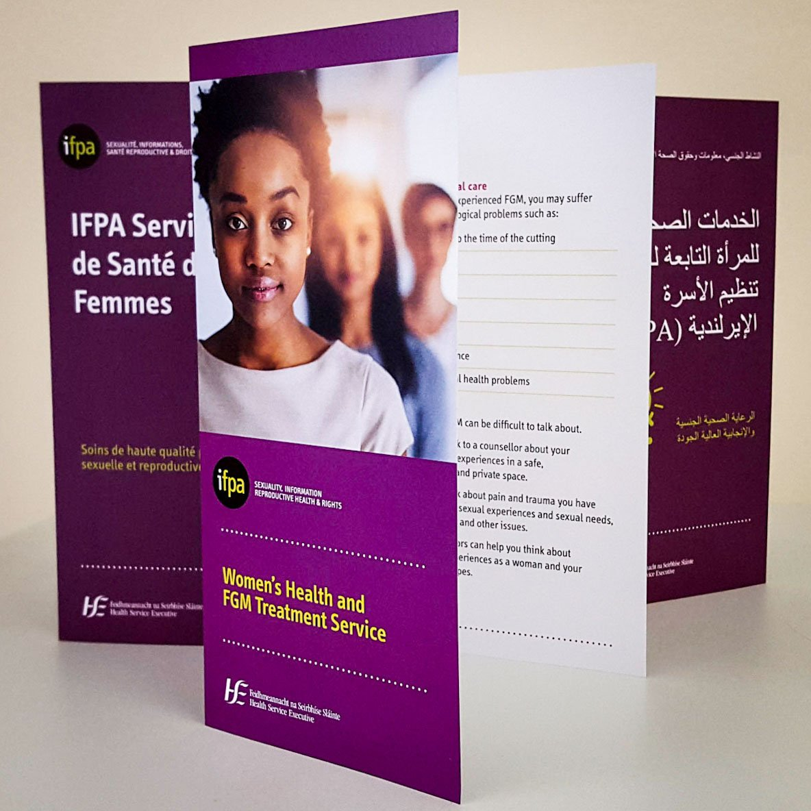 FGM leaflets covers
