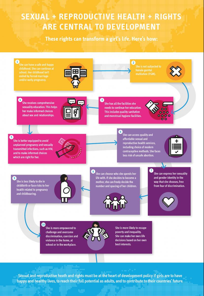 Global issues irish family planning association this infographic developed by the ifpa highlights how the realisation of sexual and reproductive health and rights can transform a girls life it allows sciox Gallery
